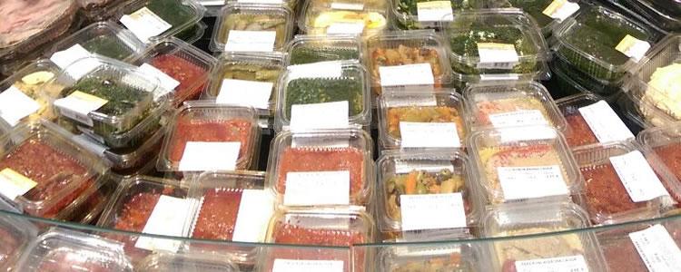 Alcuni tipi di prodotti in degustazione - Essedi Gastronomia